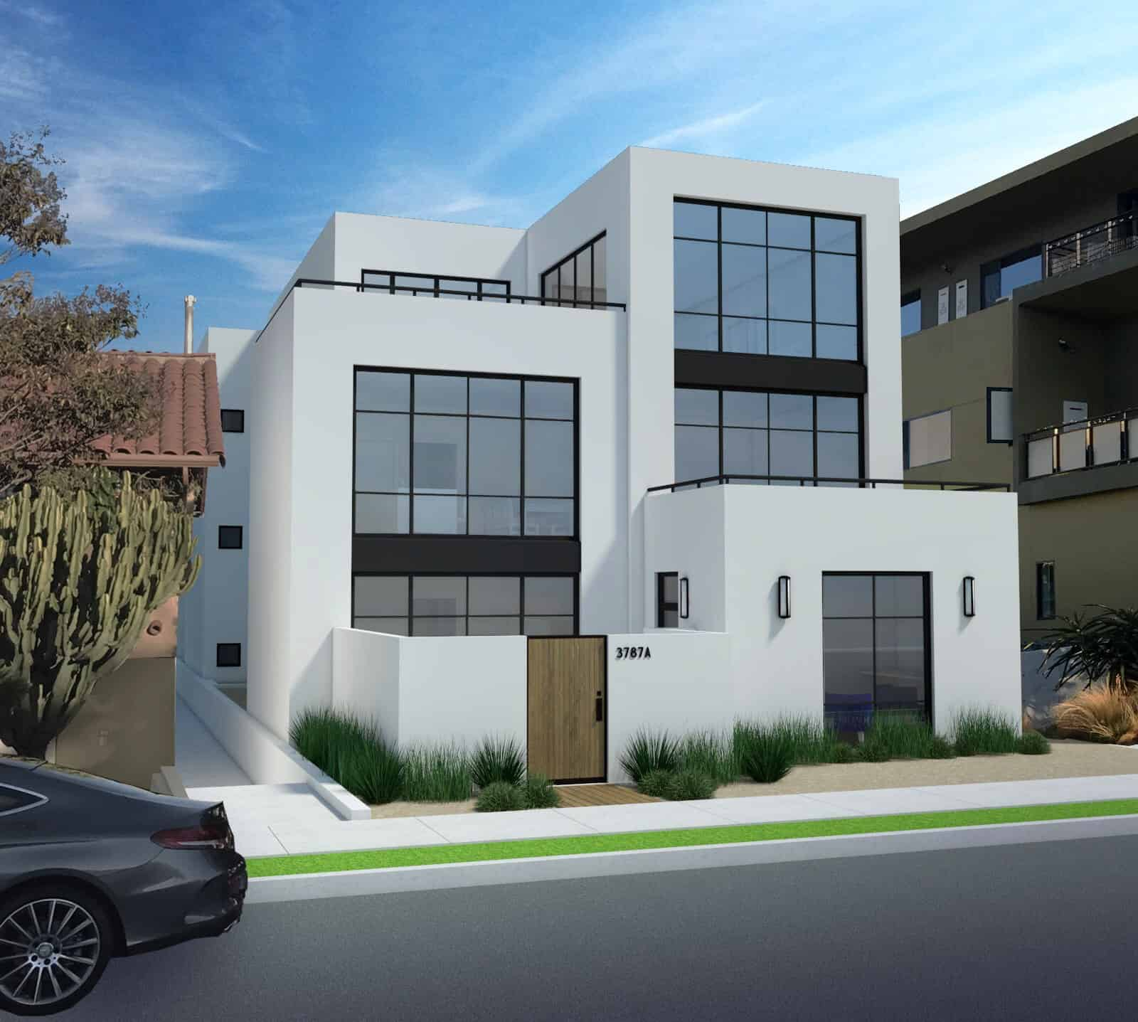 Centre Street Hillcrest Real Estate Development