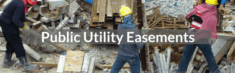 Public Utility Easement San Diego