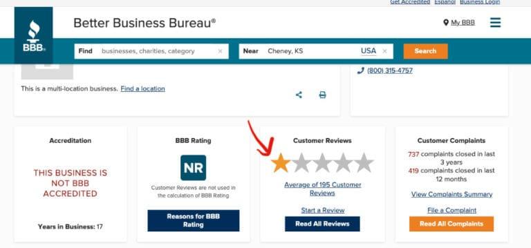 SLS BBB rating